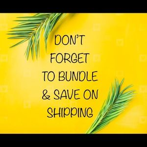 BUNDLE & SAVE !!!! Don't miss out on saving!!